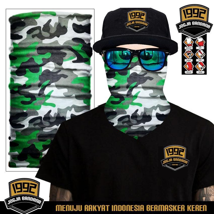 Jogja Bandana Buff (BELI 3 GRATIS 1) bandana masker serbaguna elastis Tanpa sambungan (Seamless) - Limited Edition