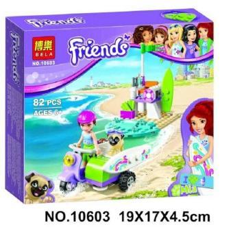 Pencari Harga Lego Bela 10603 Mia Beach Scooter Mainan Edukasi Anak on
