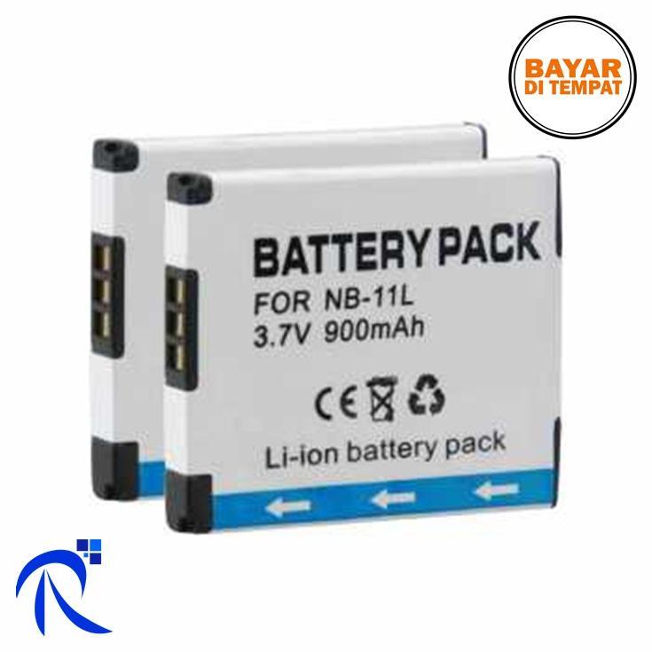 Rimas Baterai Kamera Canon NB-11L (OEM) - White / Putih - Batre Camera DSLR SLR Awet Berkualitas FREE Ongkir & Bisa COD