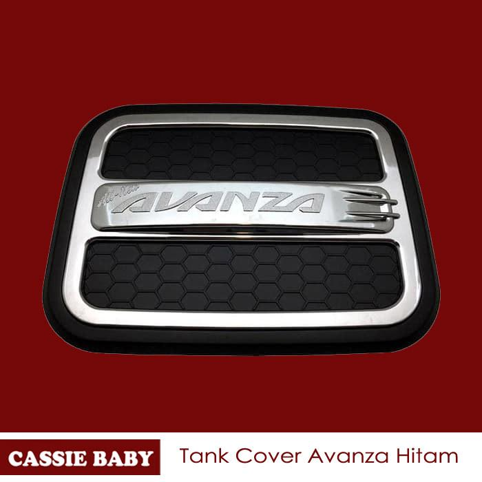 Tank Cover Grand All New Avanza / Tutup Bensin Tangki Tengki Hitam By Cassie Store.
