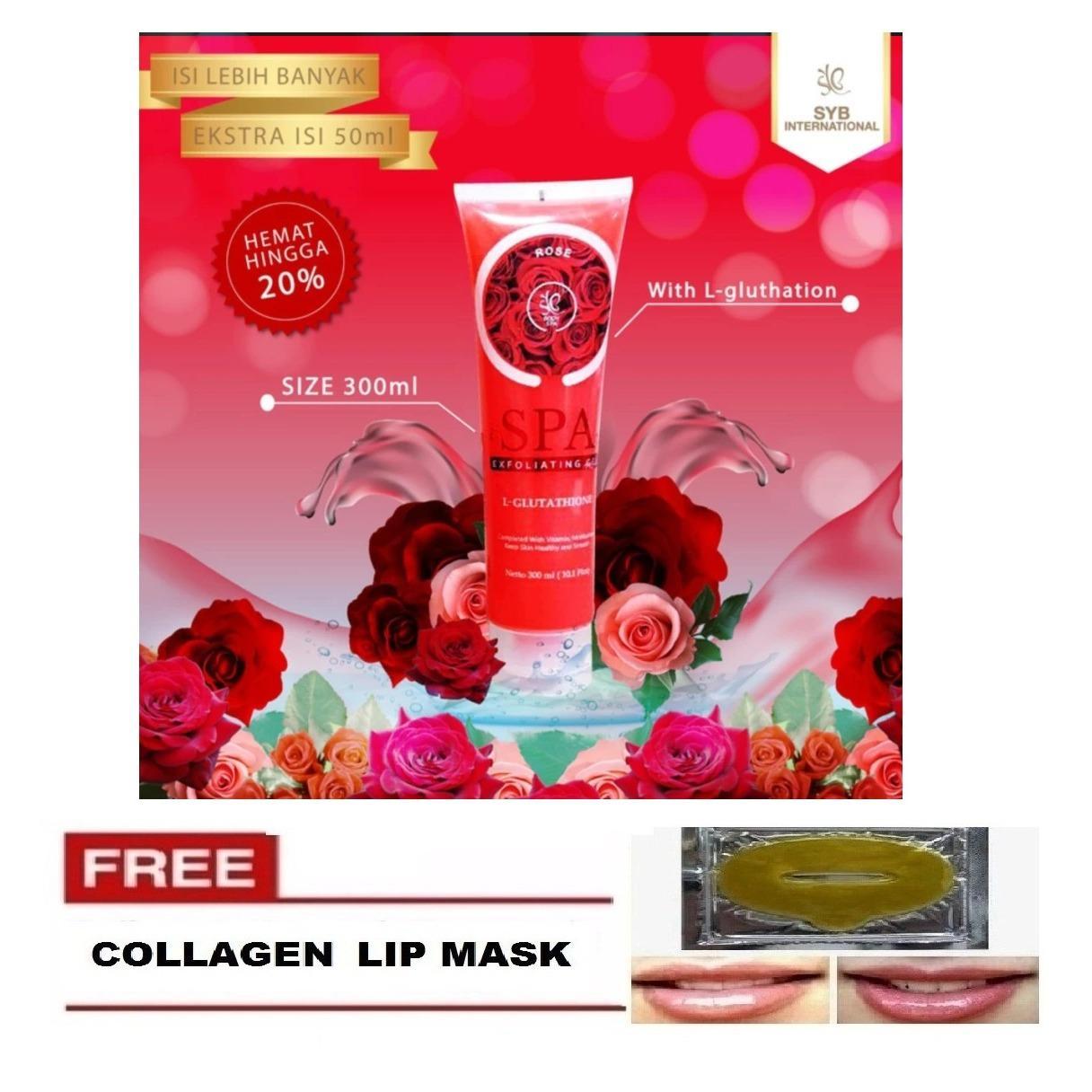 ... exfoliating gel BPOM Original   Shopee Indonesia. Source · Rose Body SPA BPOM by SYB + FREE COLLAGEN LIP MASK - 1 Pcs [FREE