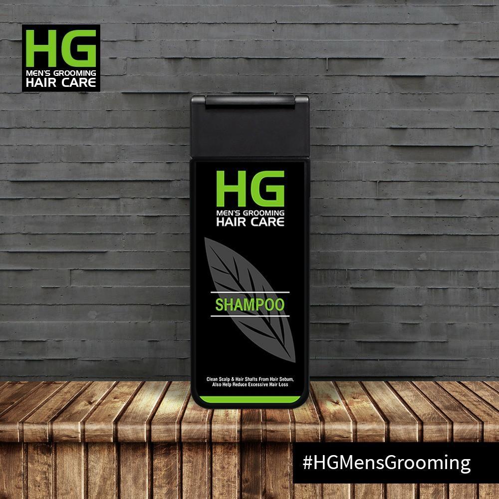 Hg Shampoo For Man 200ml By Klatenshop.