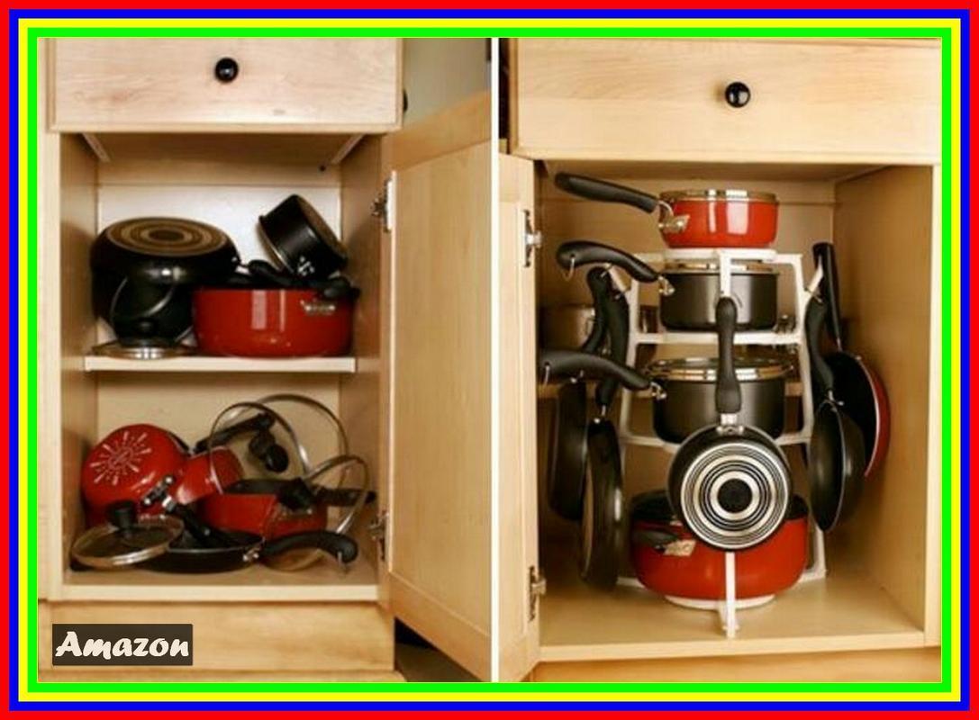 Pan Tree Panci Organizer Cookware Pantree Kitchenware Organizer