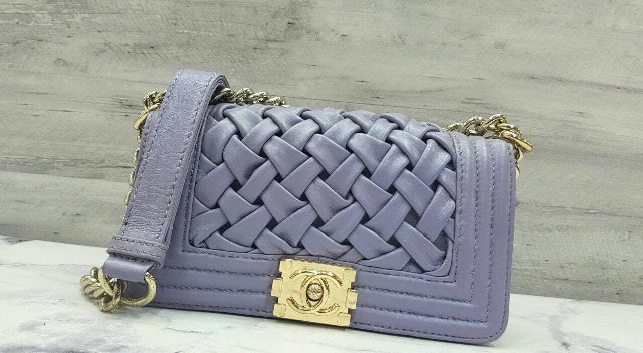 Chanel Boy Sling Bag / Tas Selempang Branded / Tas Wanita / Tas Pesta