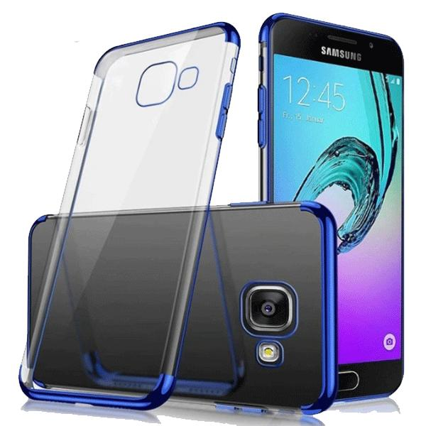 Cover Paradise Samsung Galaxy A5 2017 Shiny Electro Plating Clear Chrome Soft Case 1007 /case samsu