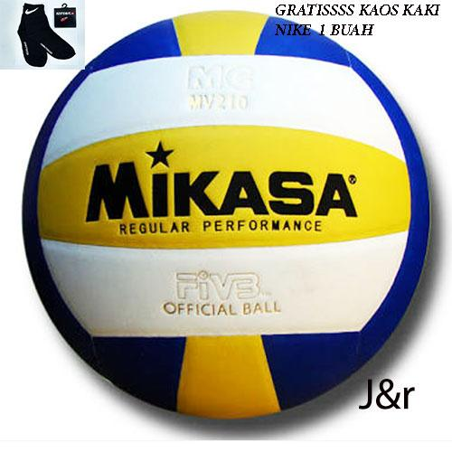 Bola Volly/voli/volley/volli Mv 210 Free Kaos Kaki By J&r.