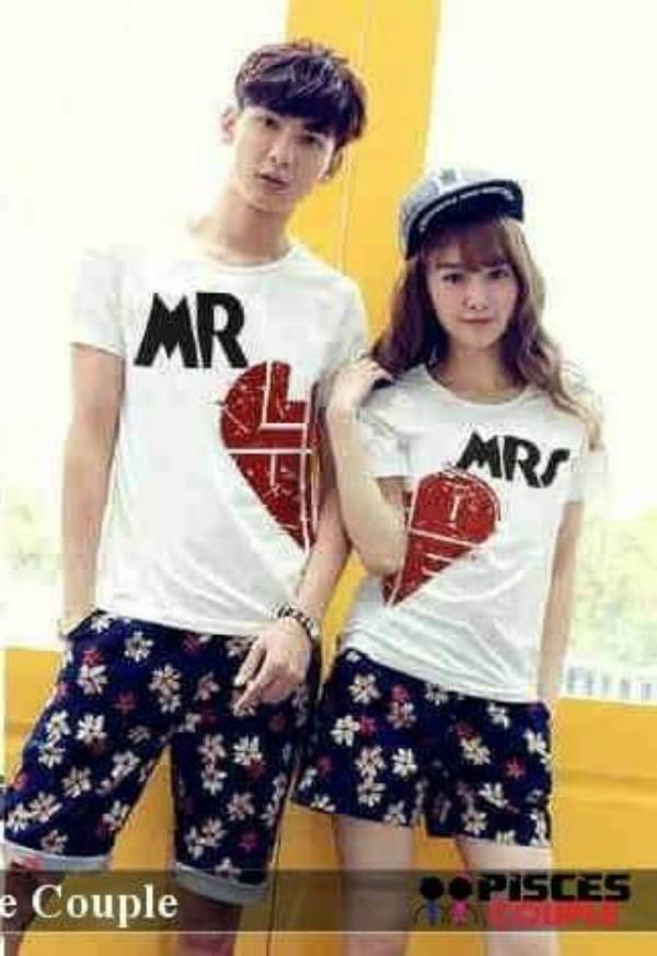 pasangan - kaos kembar - t-shirts coupleIDR82500. Rp 82.500 .