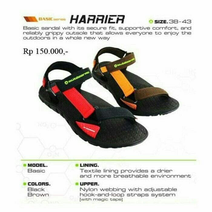 PROMO!!! Sandal gunung outdoor pro seri Harrier not eiger consina rei boogie - CZXZZA