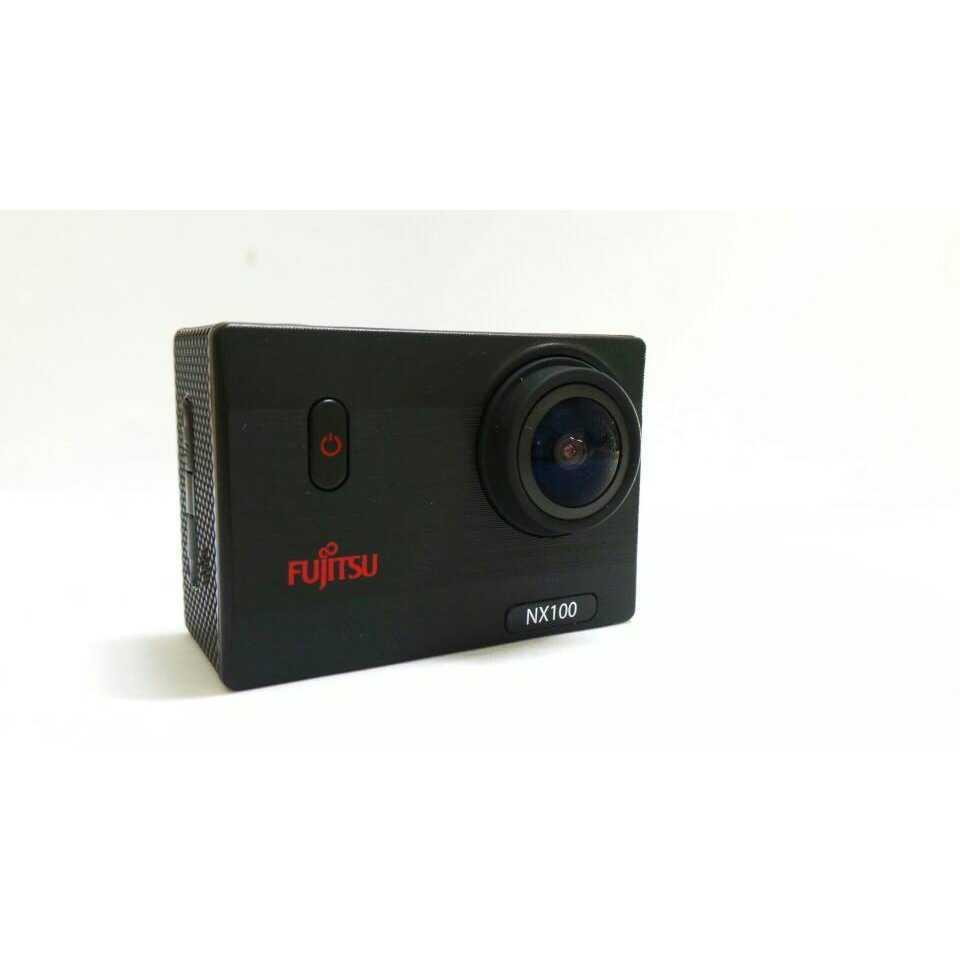 Fujitsu NX100 Wifi Action Camera Full Hd Waterproof - Black   ActionCamera