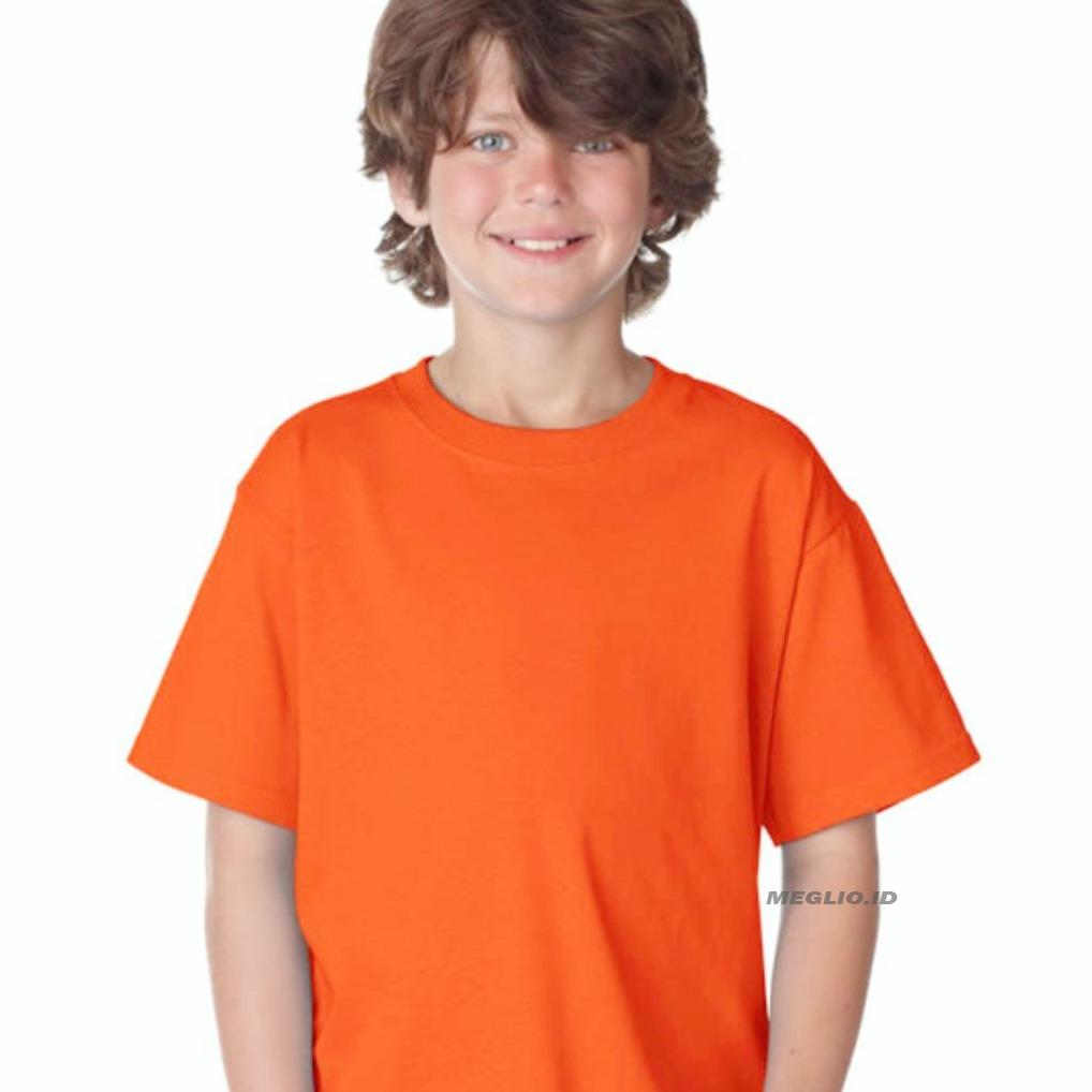 Beli Kaus Polos Bayi Laki Store Marwanto606 Produk Ukm Bumn Kaos Oblong Meglio Anak Pria Kids Boy Orange