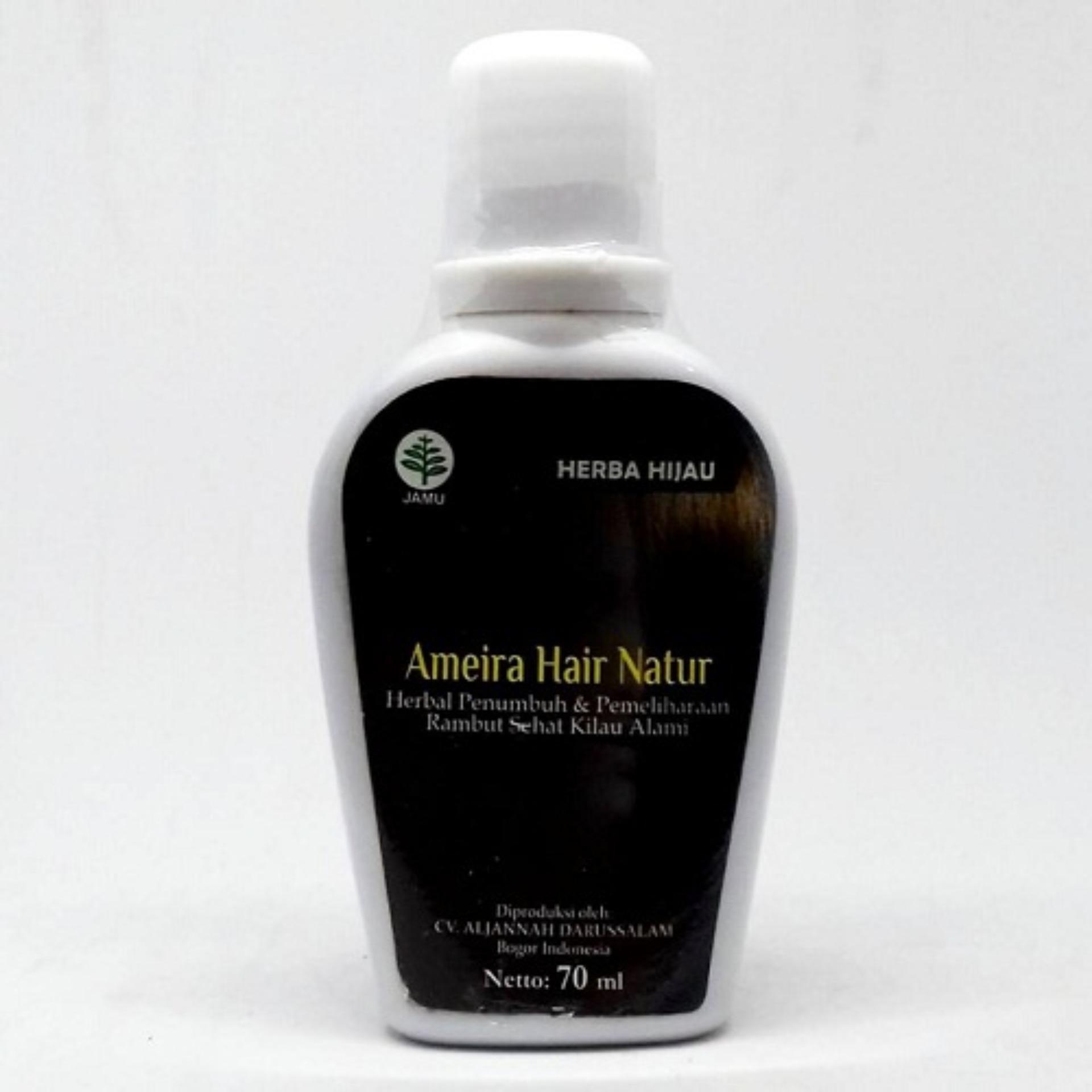 Ameira Hair Natur Menguatkan Akar Rambut , Menghambat Uban & Ketombe