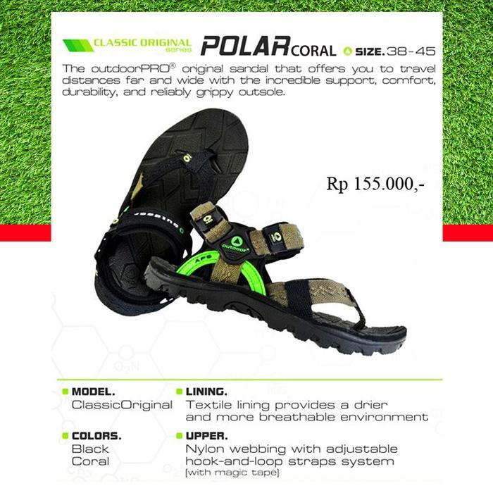 Best Seller!! Sandal Gunung - Outdoor - Polar Coral Not Eiger, Consina - ready stock