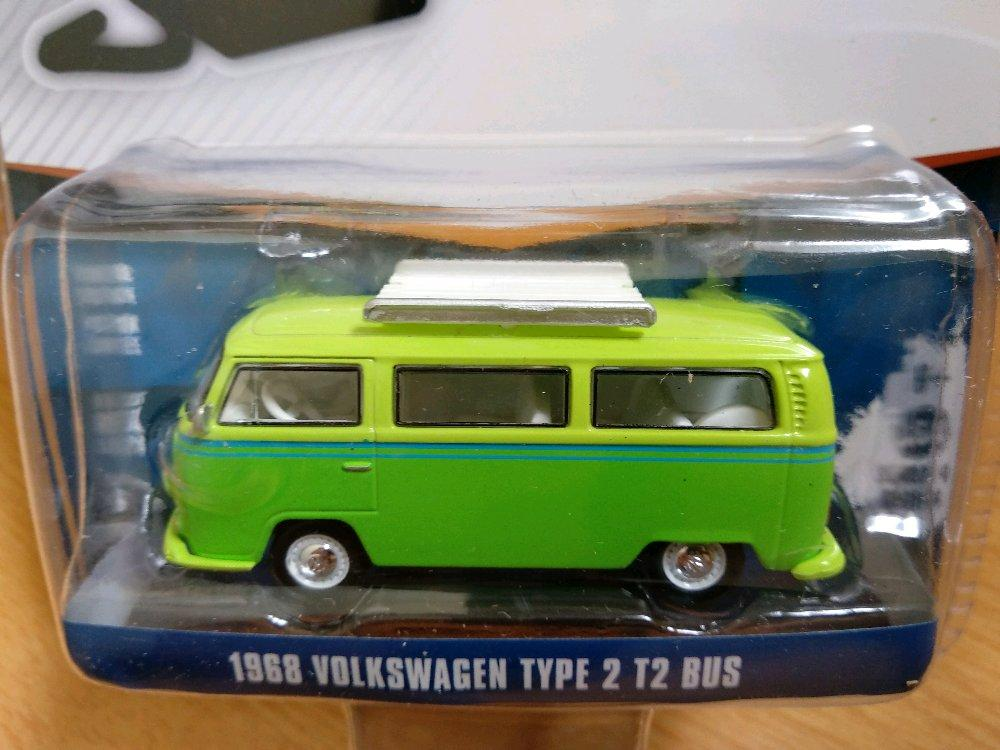 VW Volkswagen T2 Bus Greenlight Vdub # Favorit Toys favorit_toys