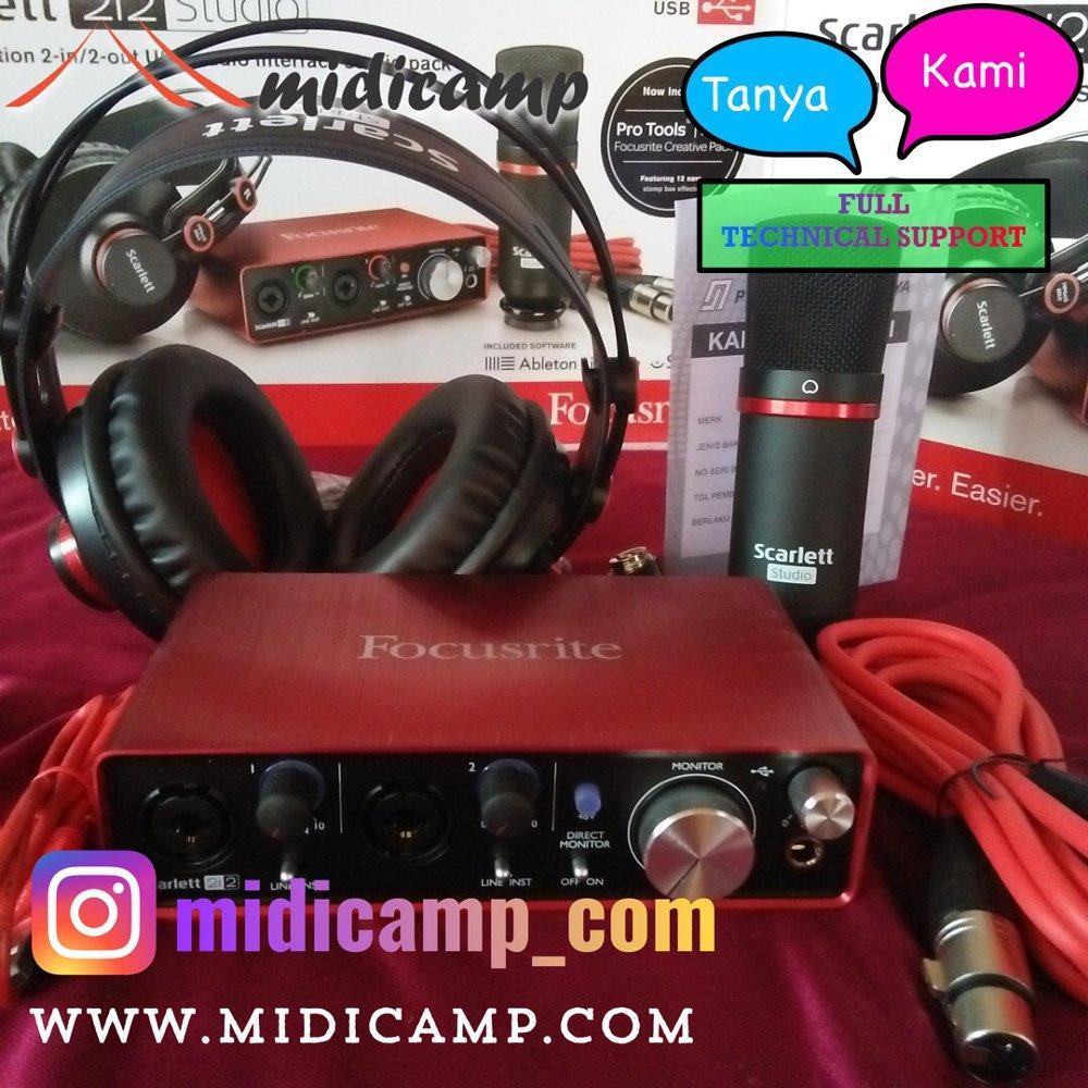 Focusrite Scarlet 2i2 Studio 2nd Generation