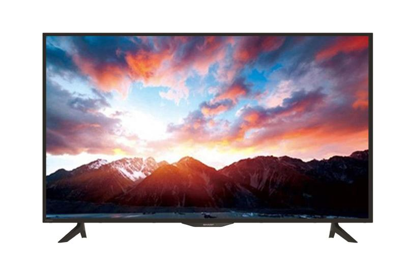 "Sharp LED TV 40"" LC40SA5100I – Hitam - Khusus Jadetabek"