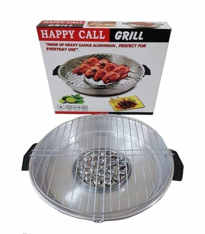 HAPPY CALL MAGIC GRILL/Panggangan Ayam Ikan DLL 30 CM