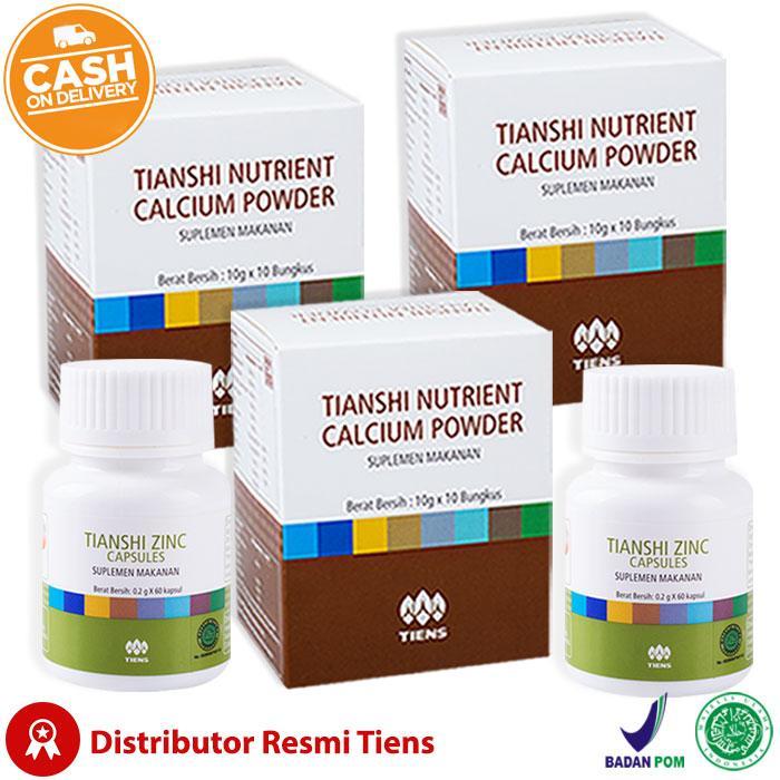 Tiens Peninggi Badan Herbal - Paket Promo by Tiens Amanah/ Original Tiens 100%/ Ampuh Terbaik di Lazada/ Bisa COD/ Bayar di Tempat