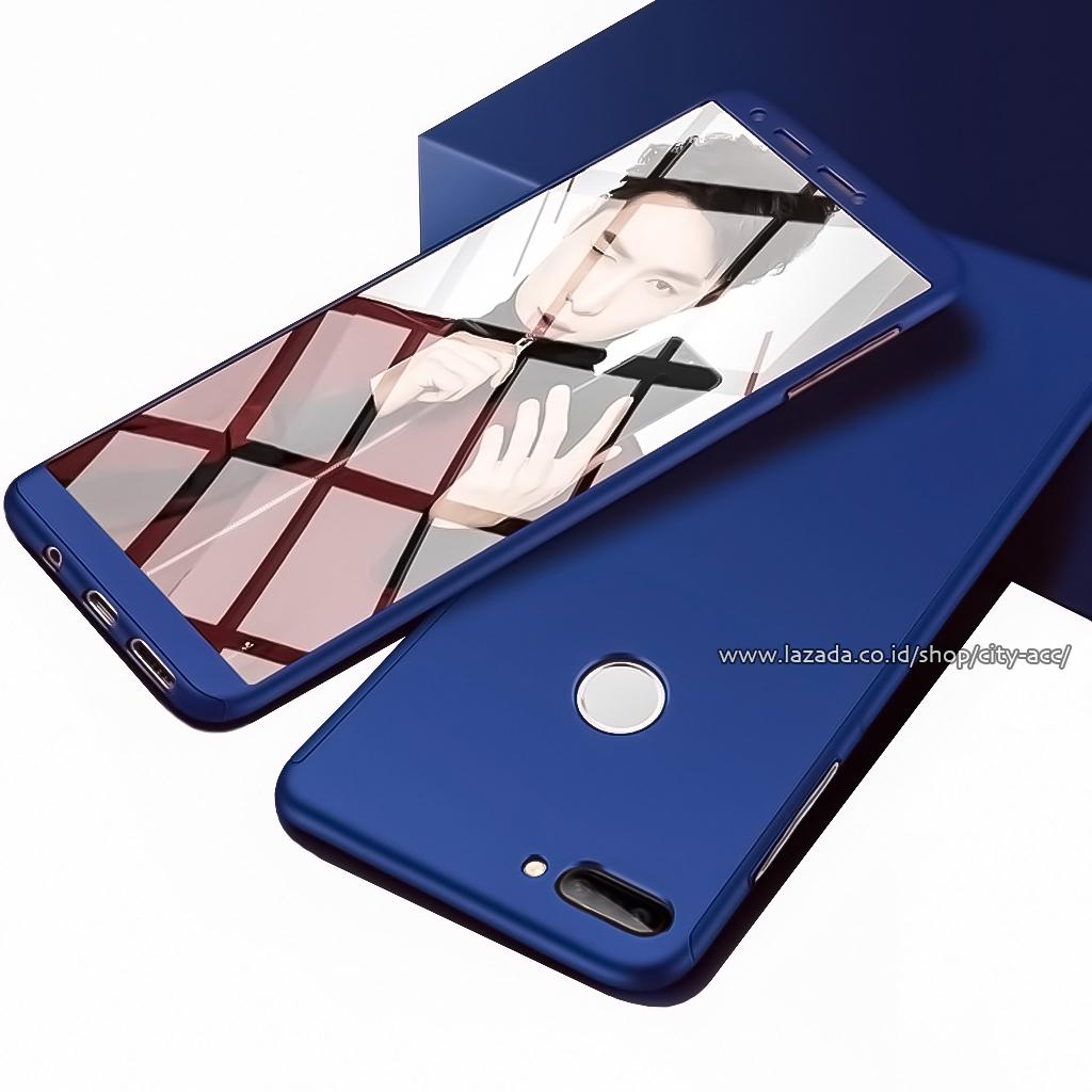 Case Front Back 360 Degree Full Protection for Huawei Nova2 Lite + Tempered Glass
