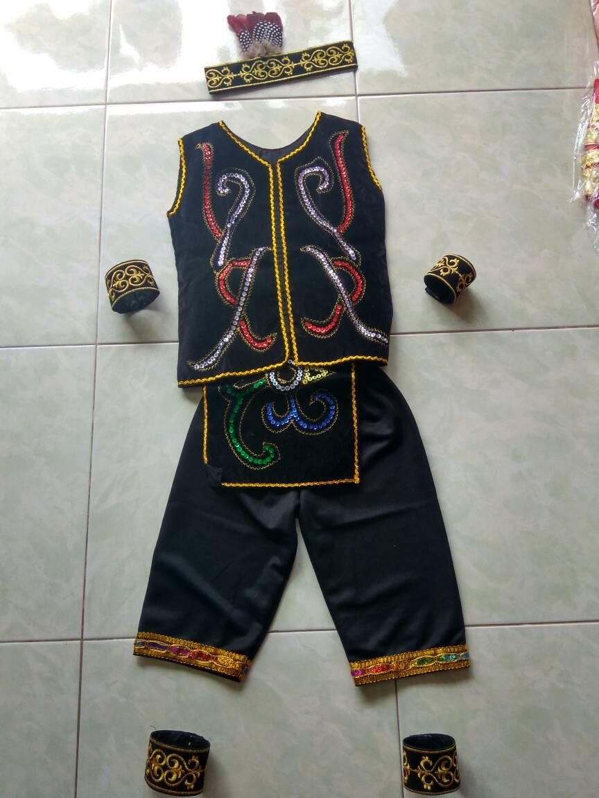 Costume HALLOWEEN acessories Baju dayak anak cowok