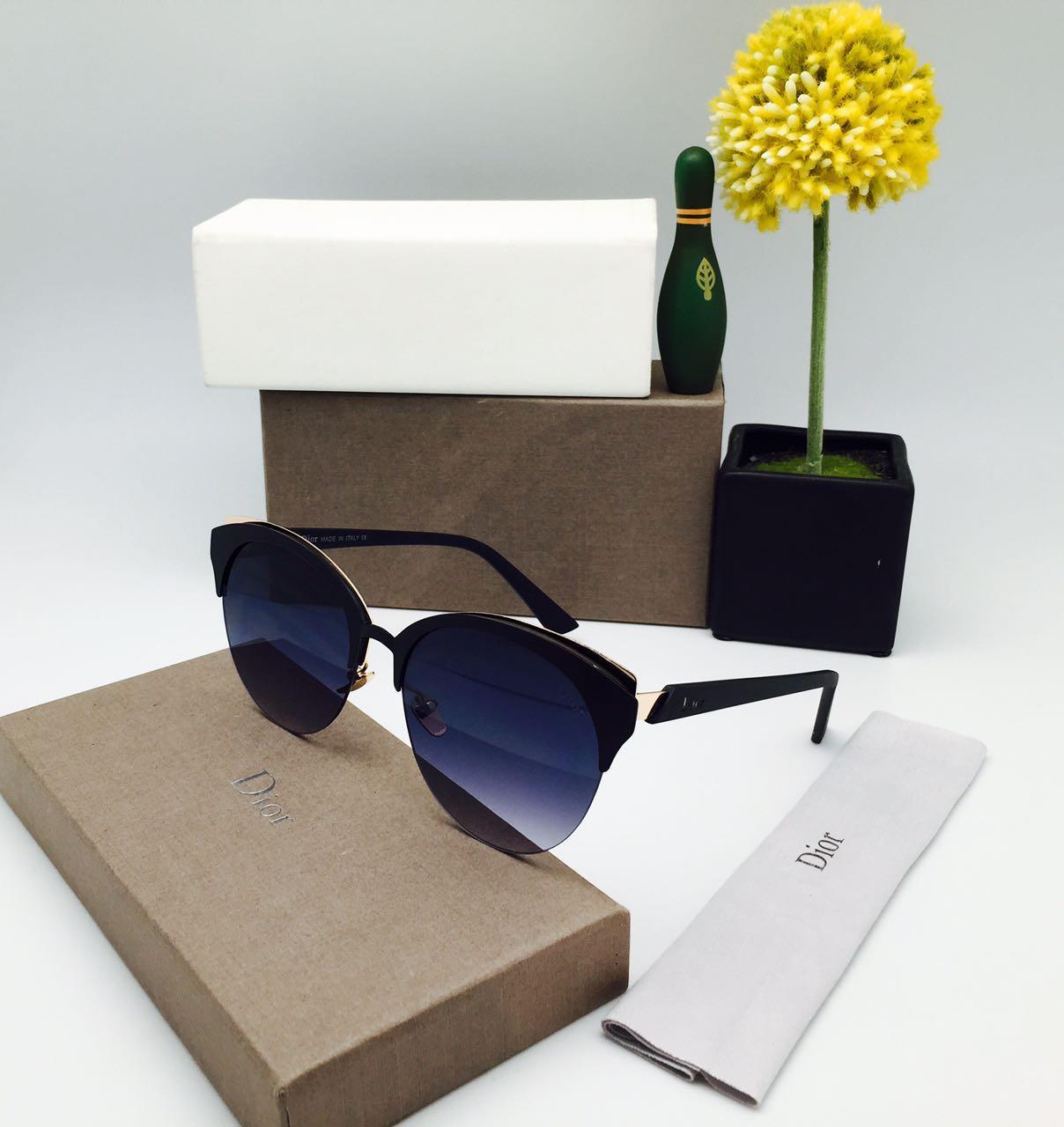 Daftar Harga Kacamata Dior Terbaru Bulan November 2018 Www Sunglass Wanita 84 Cewe 17012 Pink Box Fashion New