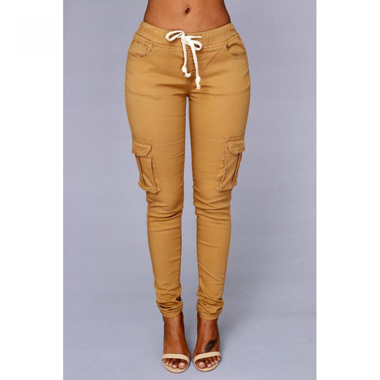 Celana Panjang Casual Wanita Polyester / Celana panjang bahan polyester / Celana Panjang Wanita