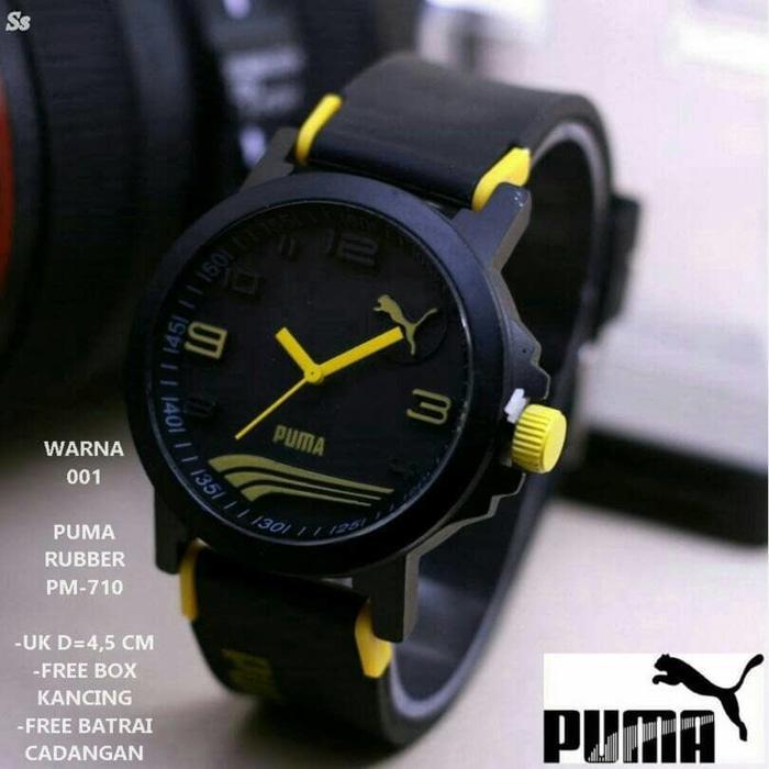 Jam Tangan Pria fashion Sporty Puma Analog Rubber Strap Ultrasize