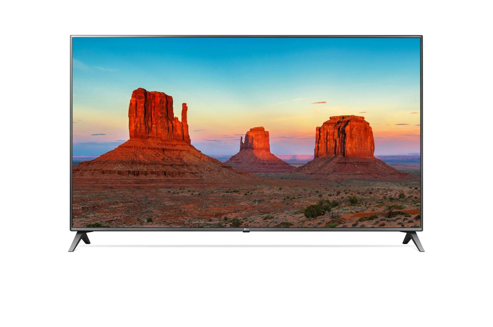 LG 43 inch UHD Smart TV 43UK6500 - Khusus Jadetabek