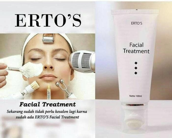 Facial Treatment ERTOS - alat makeup wanita / lipstik / lip tint / lip gloss / bedak / foundation / blush on / eye shadow / pensil alis / blulu mata palsu / kuas makeup / highliter / eyeliner / primer