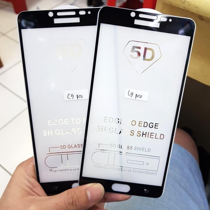 Hmc Samsung Galaxy C9 Pro 25d Full Screen Tempered Glass .