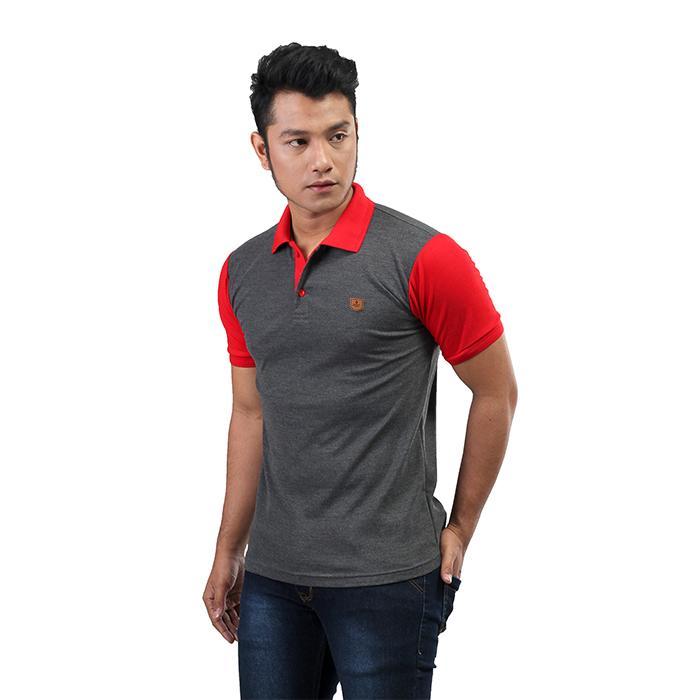 Inficlo Atasan Kaos / Polo Pria Bahan Lacoste - SMD 202