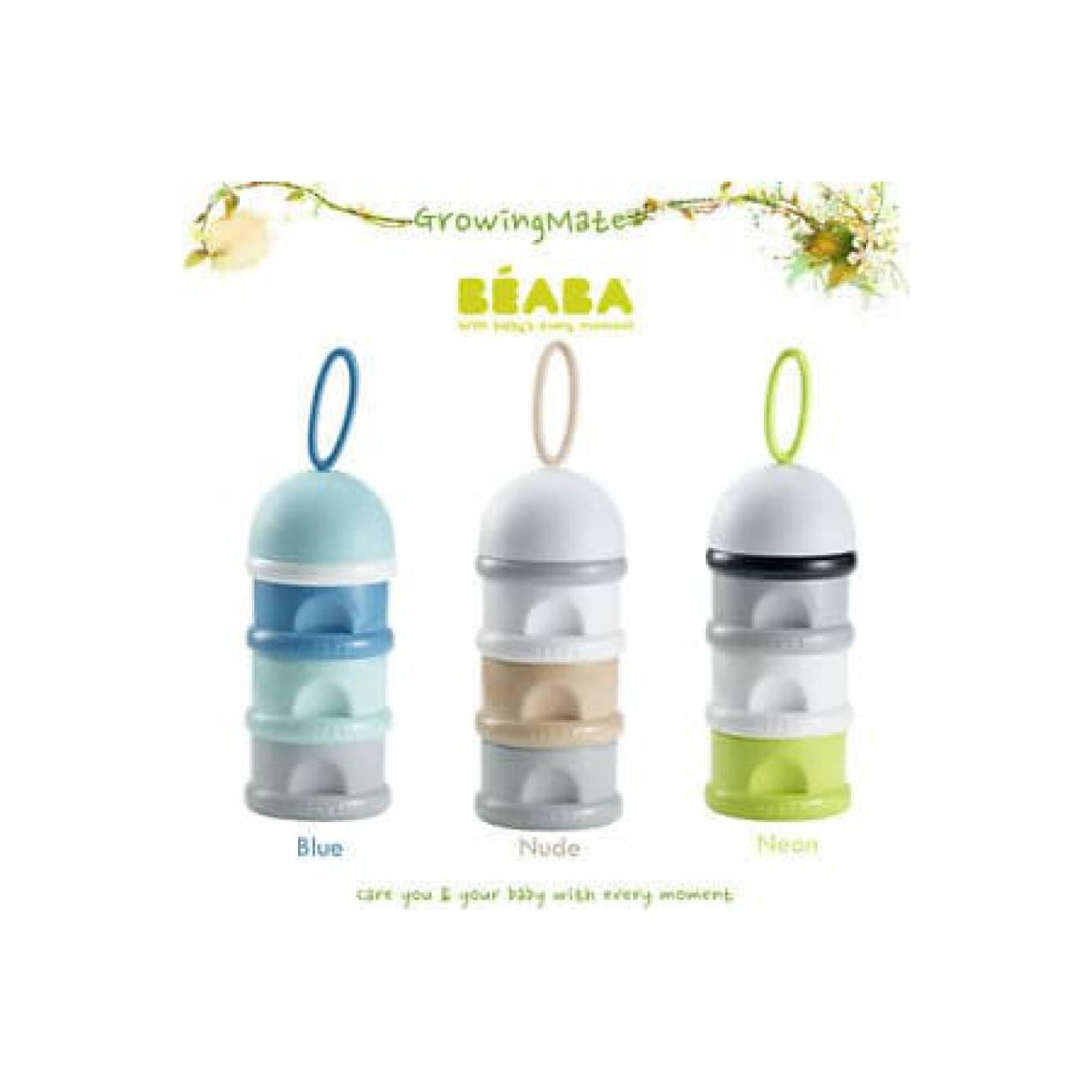 Buy Sell Cheapest Beaba 913183 Set Best Quality Product Deals Food Jar Baby Portion 420ml Formula Snack Container Blue Neon Nude