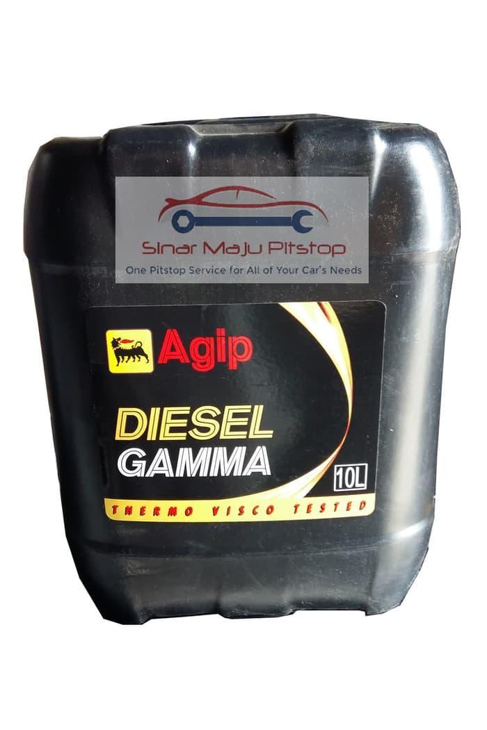 Oli Mobil Diesel / Truk / Kendaraan Niaga - AGIP DIESEL GAMMA ITALIA ORIGINAL