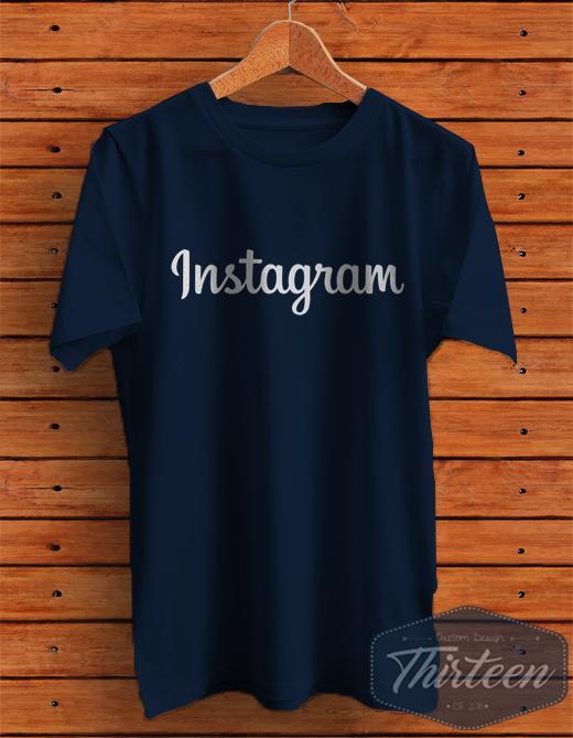 Kaos Instagram Kualitas Distro
