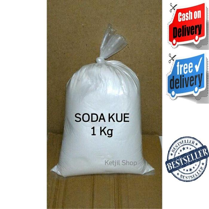 Sodium Bicarbonate / Soda Kue / Baking Soda / Food Grade / 1 kg