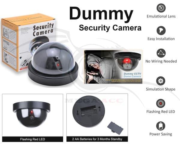 Dummy CCTV Palsu / Fake CCTV / Replika + Infrared Dummy CCTV Palsu / F /