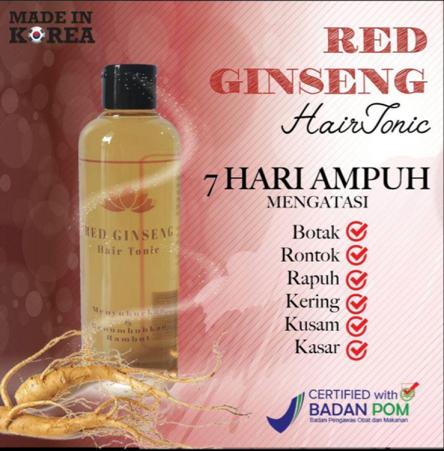 RED GINSENG HAIR TONIC ORIGINAL BPOM - PROMO!! Hair tonic