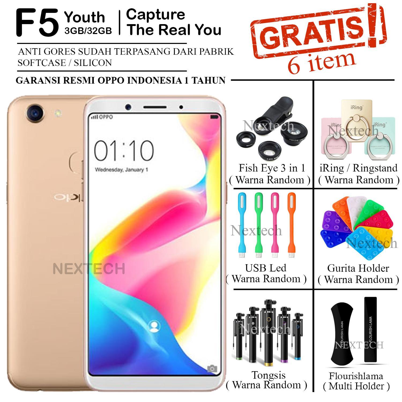 Oppo F5 Youth - Ram 3GB - Rom 32GB - Fingerprint - Gold