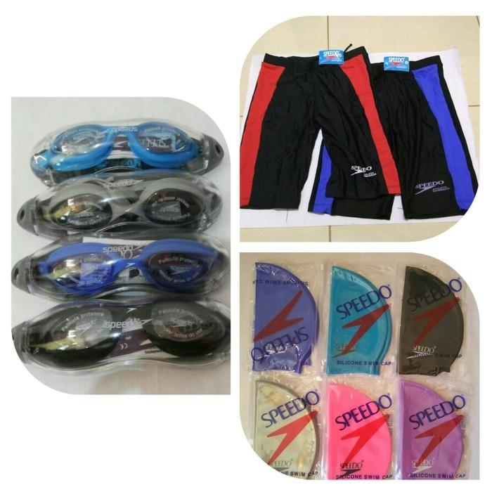 Kacamata renang Speedo LX 68 / Celana renang / Topi renang