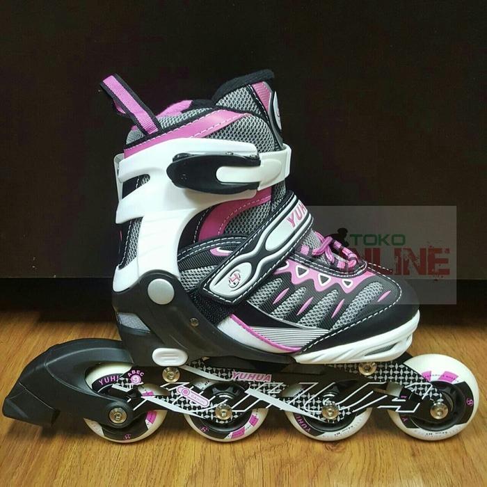 Sepatu Roda Anak Inline Skate Murah YH A001 - PINK