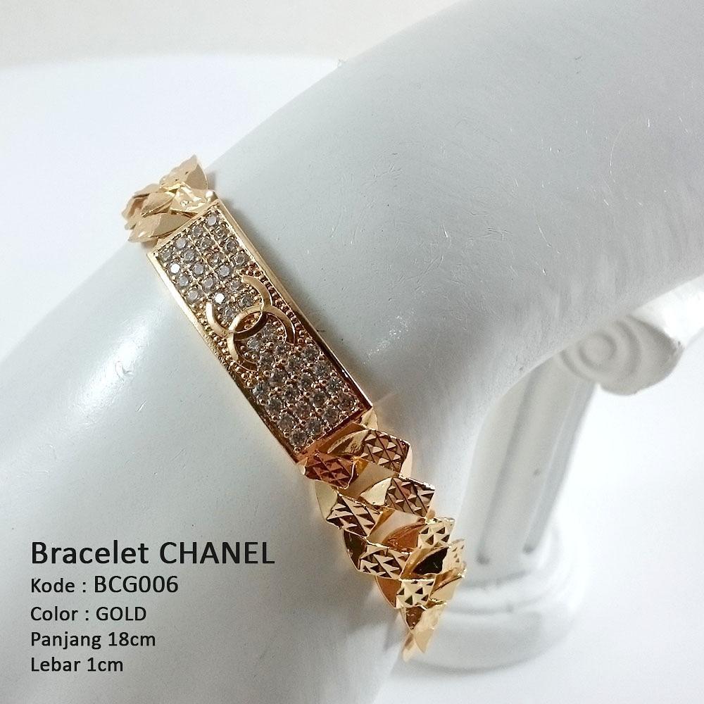 Gelang tangan wanita bracelet chanel