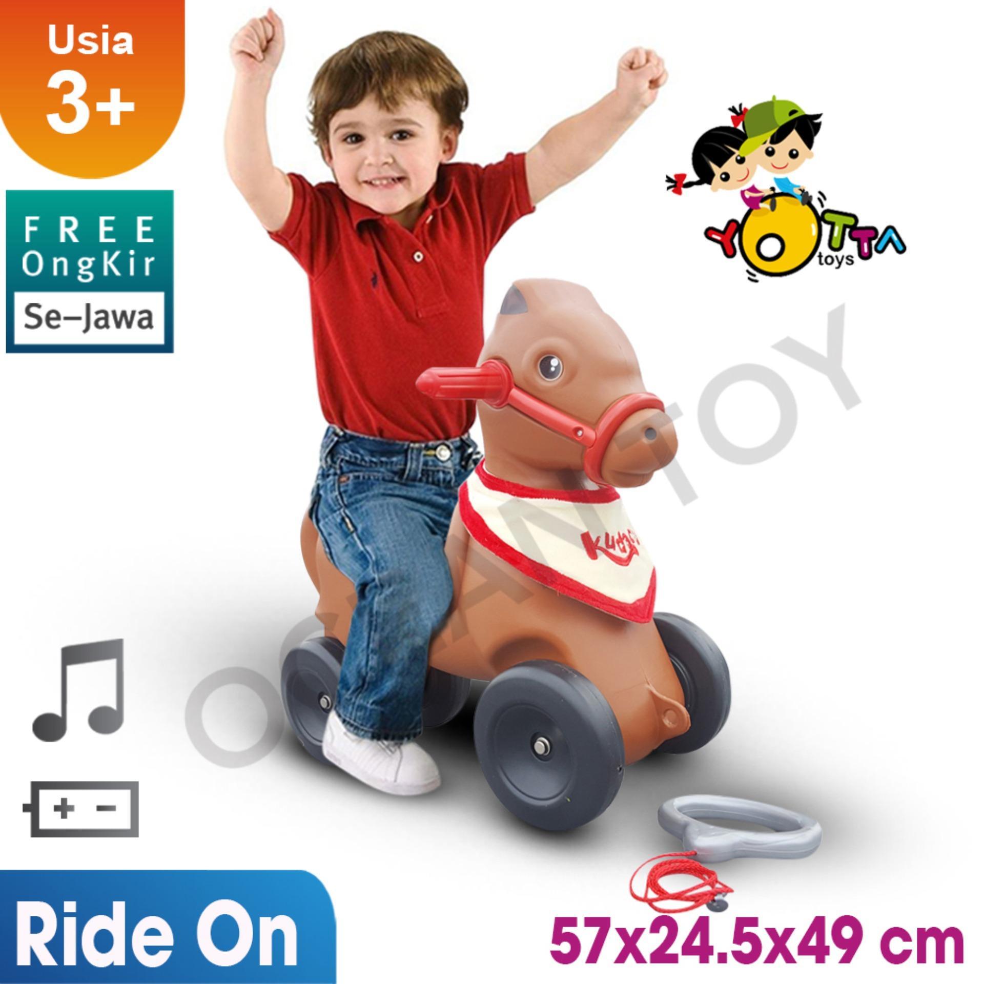 100% Free Ongkir Khusus Pulau Jawa Ocean Toy Yotta Ride On Kudacu Mainan Anak - HDC