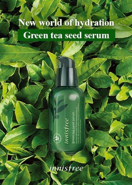 jual Innisfree green tea seed serum 1ml - SAMPLE - KEMASAN BARU 2018 harga grosir