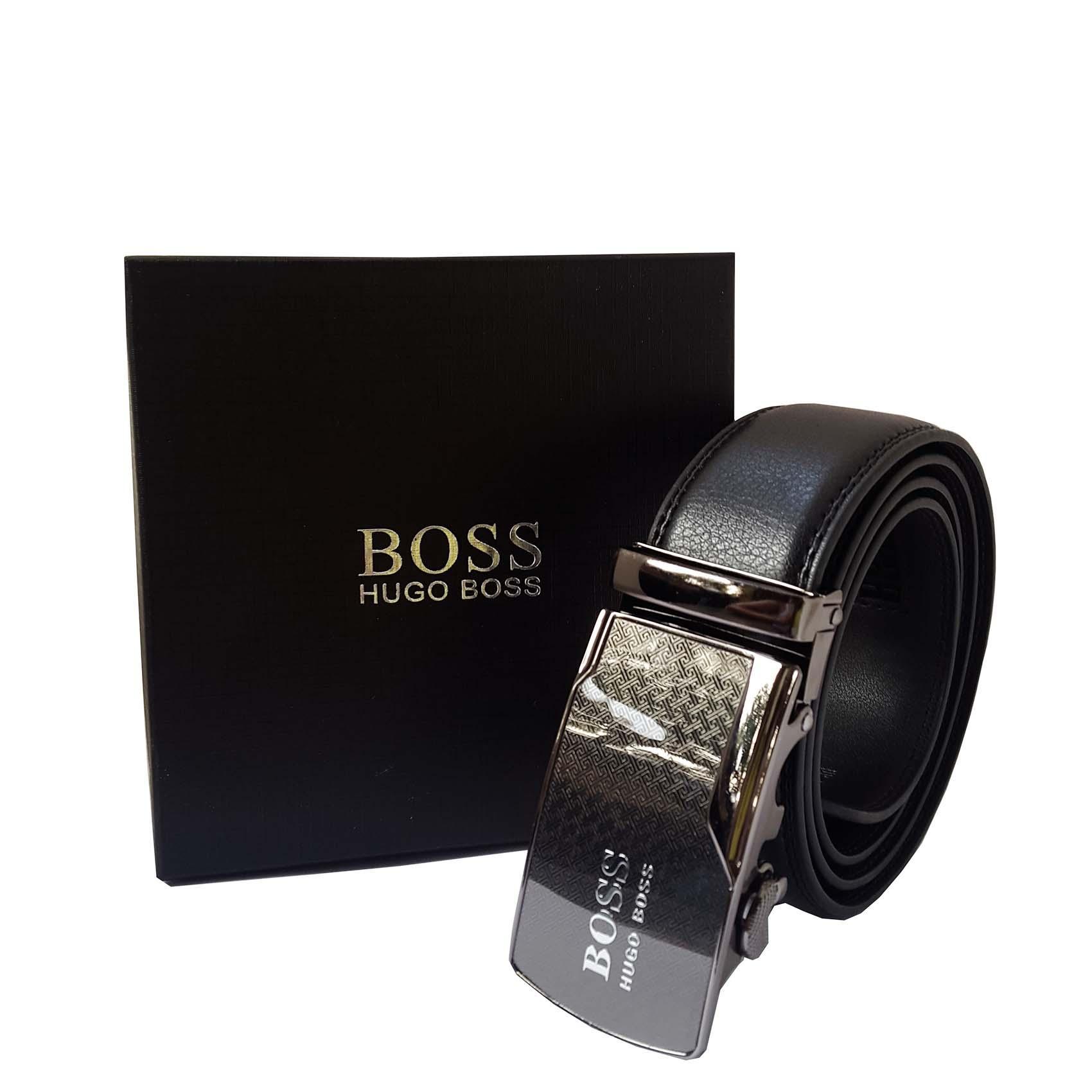 Ikat Pinggang / Ban Pinggang /  Gesper Pria Branded Hugo Boss Black Exclusive