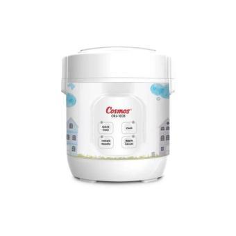 Pencari Harga Cosmos Rice Cooker,Penanak Nasi Digital Mini 4in1 0.3 Liter Crj-1031
