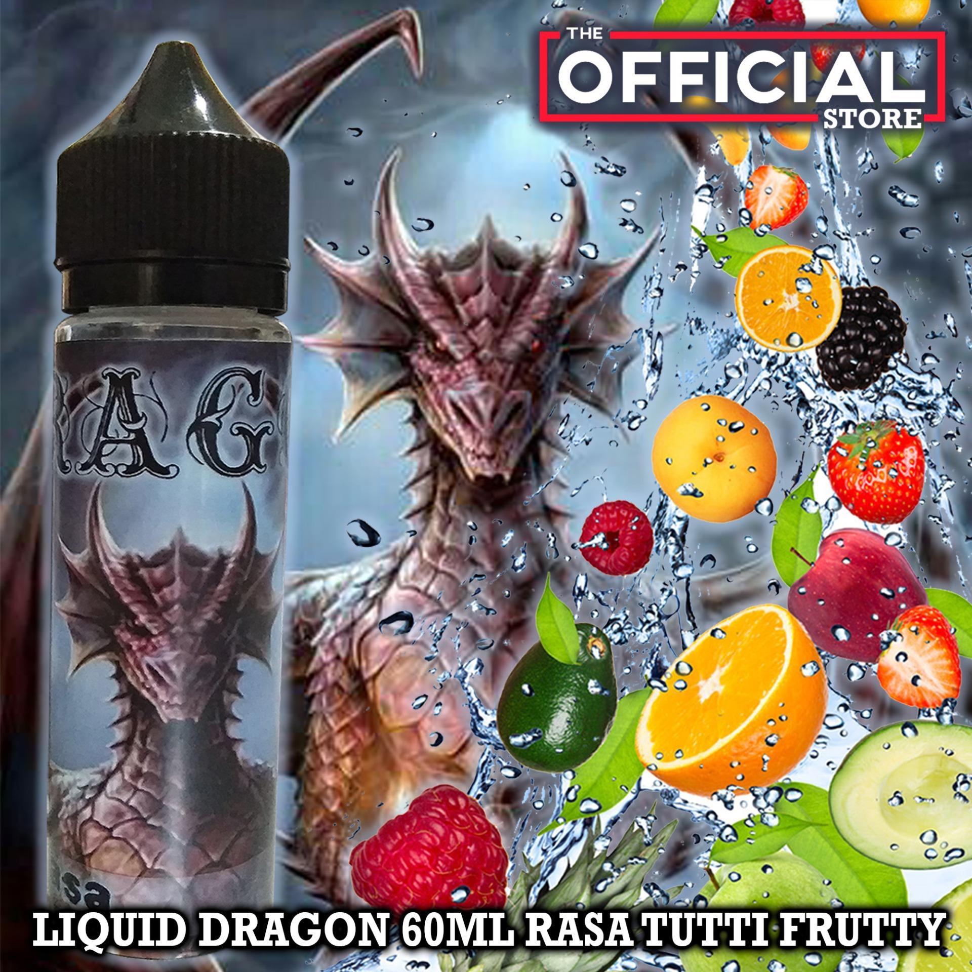 Liquid Dragon 60ml Vape & Rokok Elektrik Rasa Campuran Buah