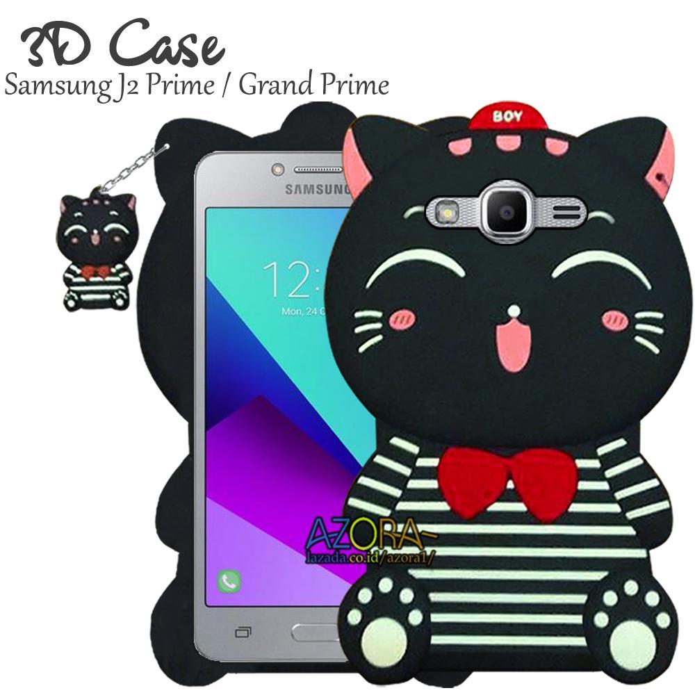 3D Case Samsung J2 Prime   Grand Prime Softcase 4D Karakter Boneka Hello  Kitty Doraemon Lucu f26510ec8f