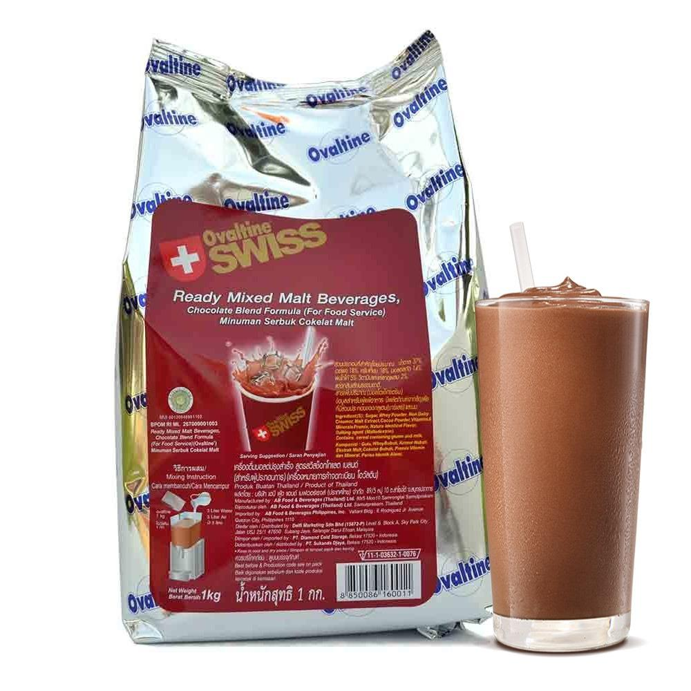 Ovaltine Malt Swiss Minuman Instan Coklat  -1kg