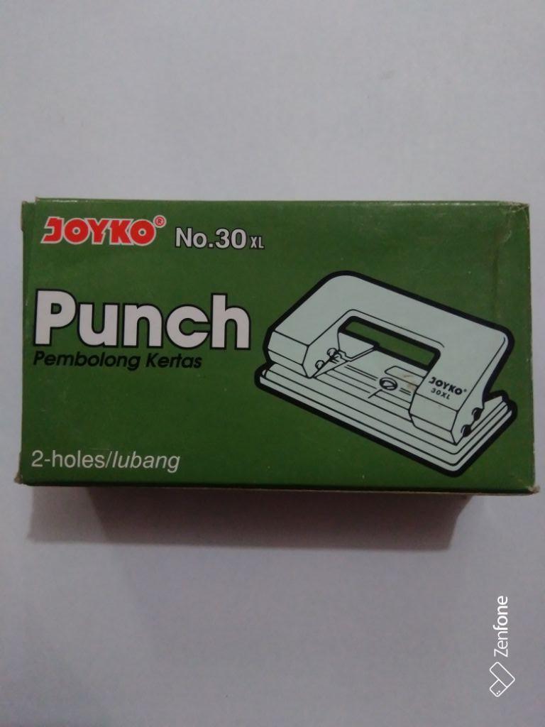 Buy Sell Cheapest Pembolong Kertas Satu Best Quality Product Deals Lem Kertass Joyko 2 Lubang