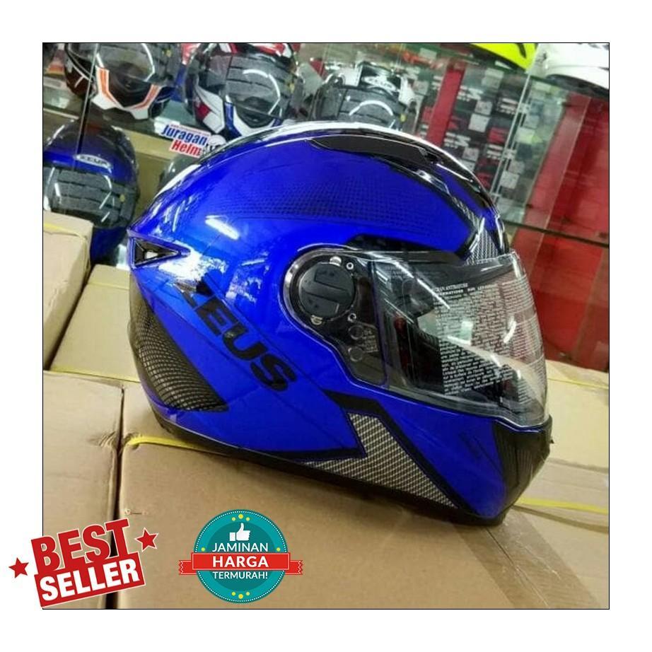 Jual Zeus Helm Fullface Murah Garansi Dan Berkualitas Id Store 811 White Black Green Al3 M L Xl Putih Bukan Nolan Agv Arai Shoeiidr859860 Rp 859860