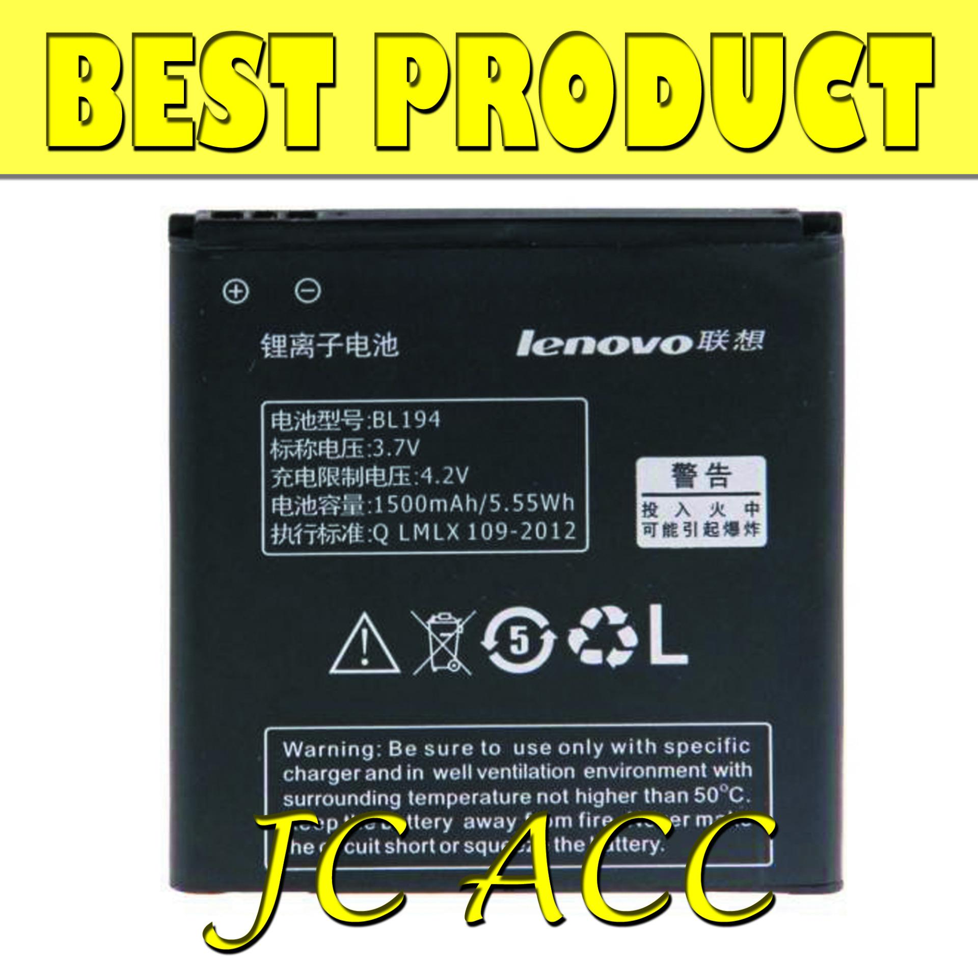 Lenovo Original 100% BL194 Baterai for Lenovo A288 / A298T / A360 / A370 / A660 (BEST PRODUCT)